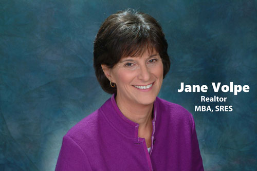 Jane Volpe, Realtor, MBA, SRES